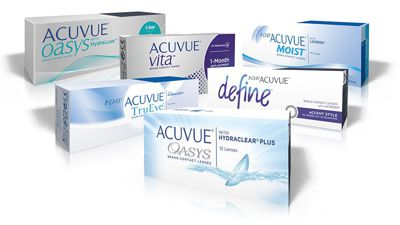 Acuvue Contact Lenses Are at Whalley Optical